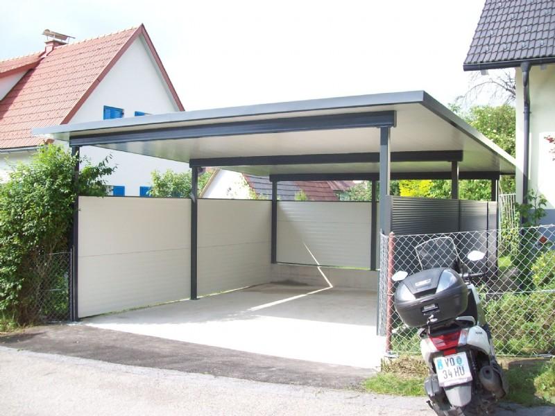 carports carports stahl metallbau graz sven muik metallbau. Black Bedroom Furniture Sets. Home Design Ideas